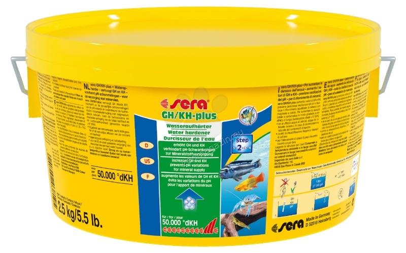 Sera - GH/KH Plus - за повишаване едновременно на GH и КН 275 грама