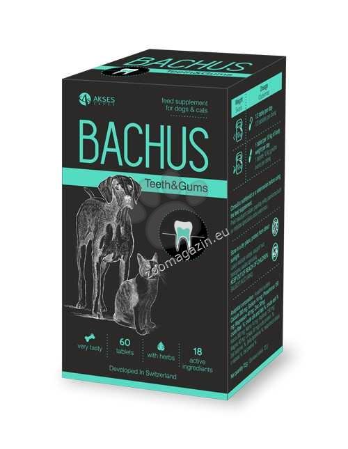 Bachus Teeths&Gums - заздравява зъбите и венците, предпазва от зъбен камък 60 таблетки