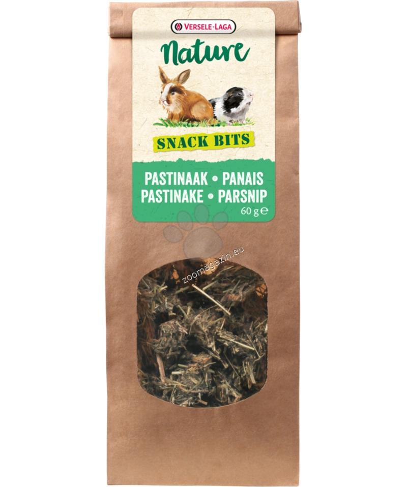 Versele Laga - Nature Snack Bits Parsnip - влакнести топки, за гризане с пащърнак и глухарче 60 гр.
