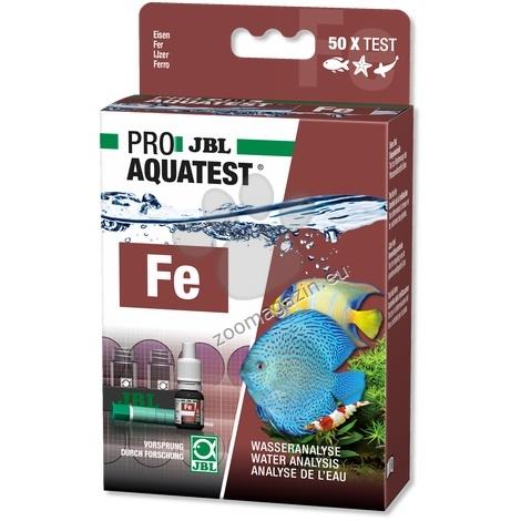 JBL Proaquatest Fe Iron - тест за измерване нивото на желязо във водата 50 теста