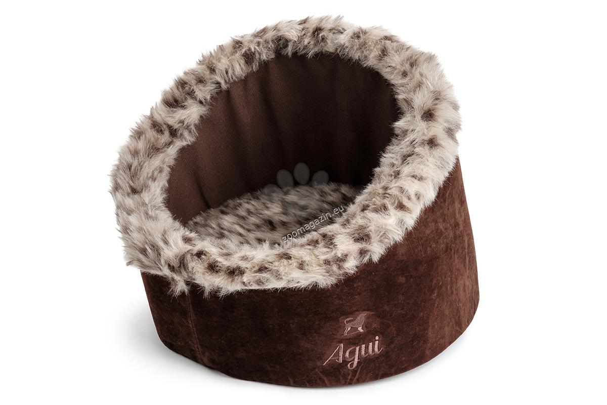 Agui Wild Igloo - котешко иглу 35 / 28 см. / кафяво, сиво /