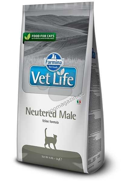 Vet Life Natural Diet Cat Neutered Male - храна за кастрирани мъжки котки 2 кг.