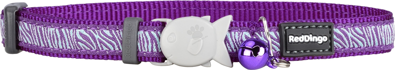 Red Dingo Cat Collar Safari Purple - котешки нашийник, 12 мм х 20-32 см