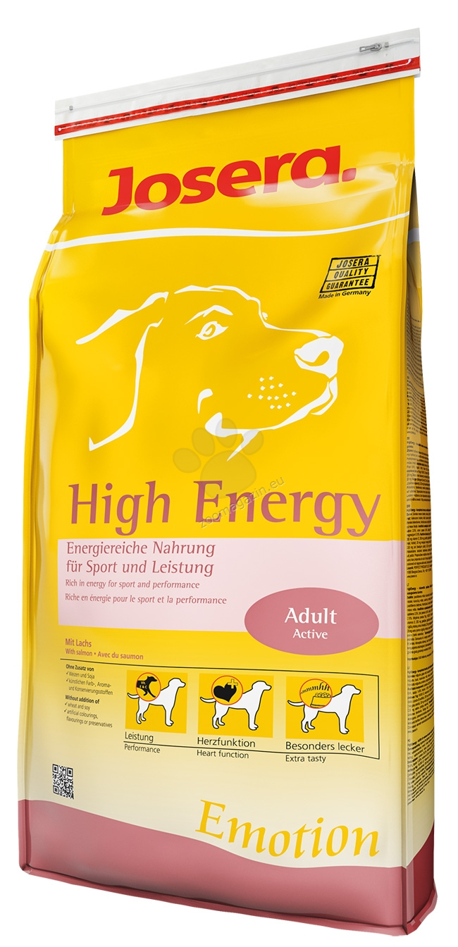 Josera High Energy Chicken and Fish 15 kg.