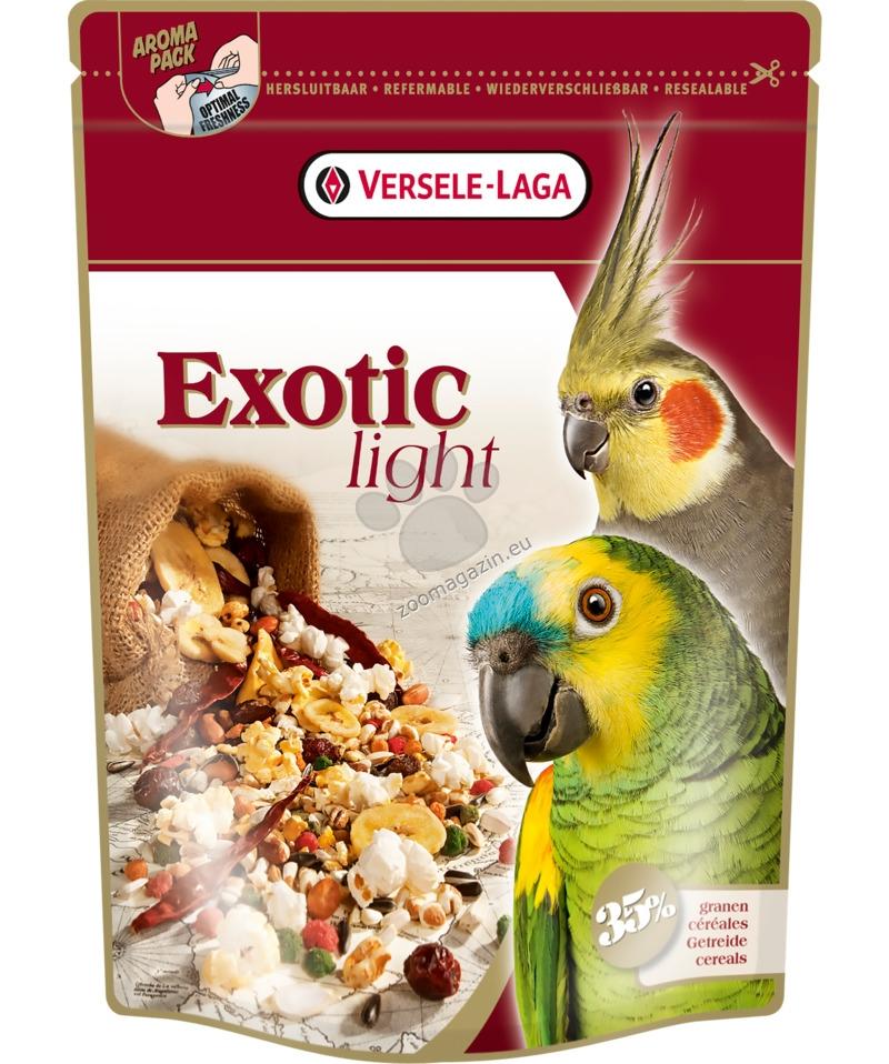 Versele Laga - Exotic Light - за големи папагали с пуканки и зърна  750 г