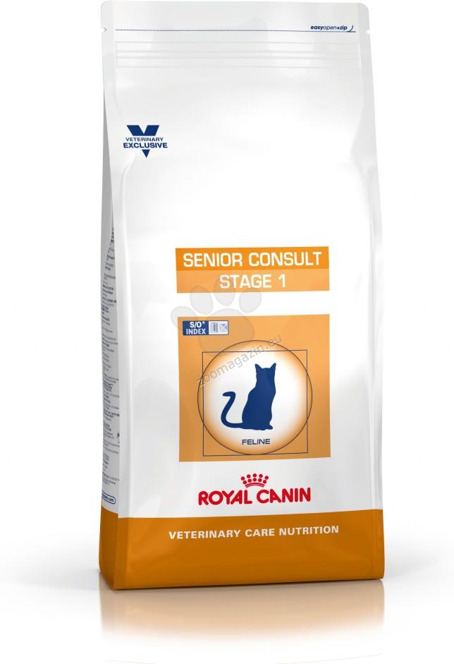 Royal Canin Senior Consult Stage 1 - пълноценна храна за възрастни котки над 7 годишна възраст  3.5 кг.