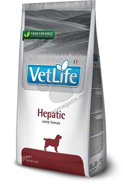 Vet Life Natural Diet Dog Hepatic - диета за кучета с чернодробни заболявания 2 кг.