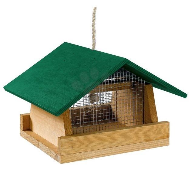 Ferplast - Natura F1 - градинска хранилка за диви птички 26,8 / 24 / 17,4 cm