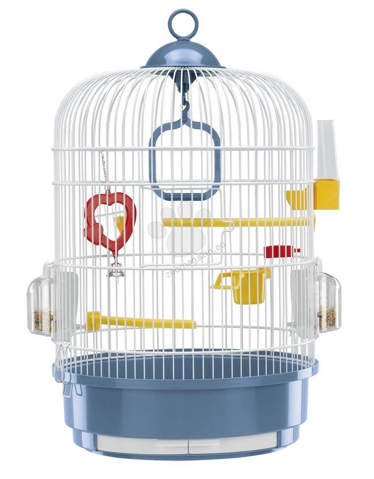 Ferplast - Regina White - кръгла клетка за малки птици ø 32.5 / 49 cm
