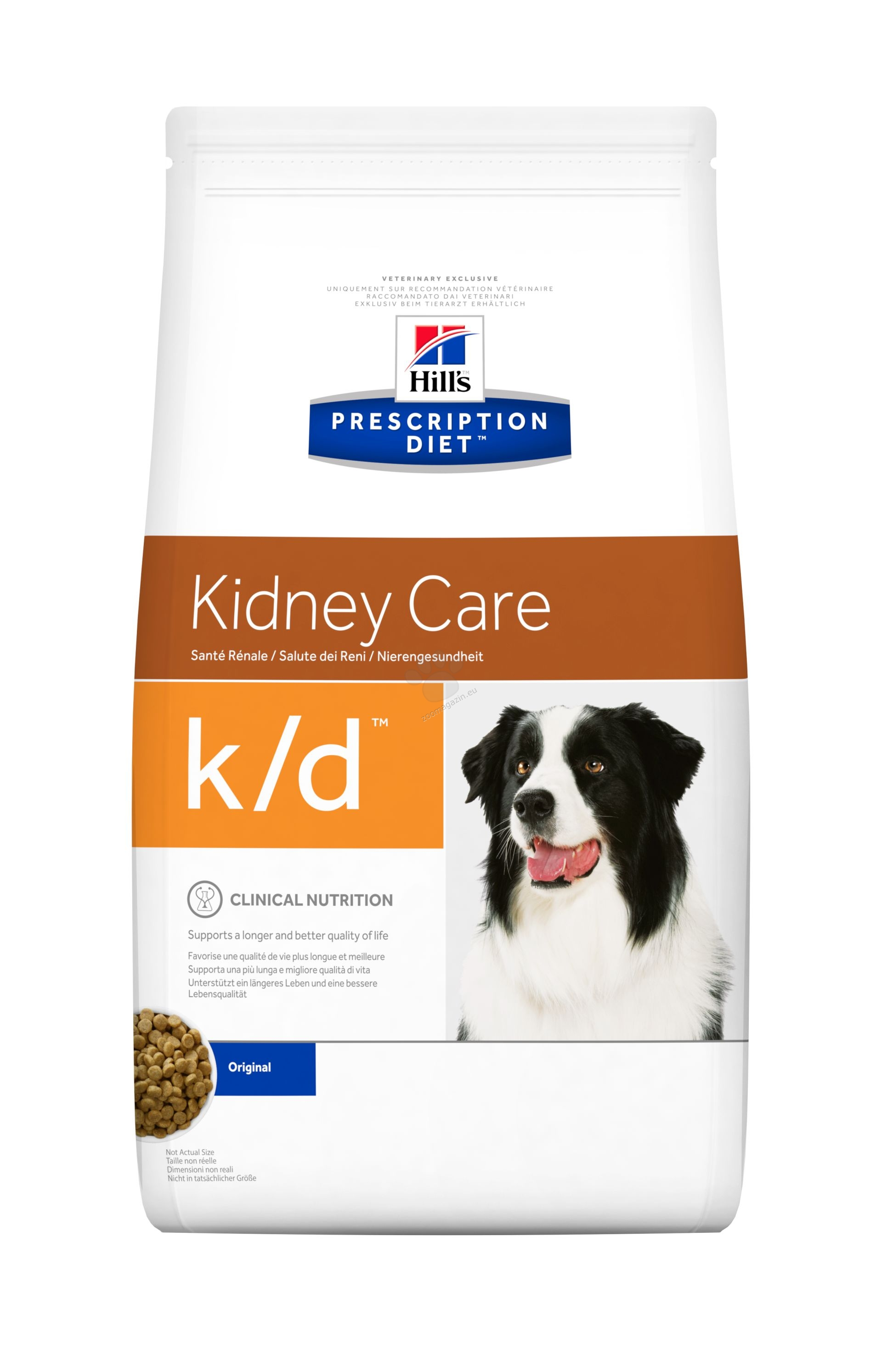 Hills Prescription Diet k/d - диета за кучета с бъбречна недостатъчност 2 кг.