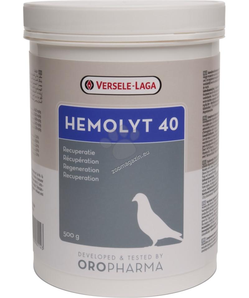 Versele Laga - Oropharma Hemolyt 40 - електролити и животински протеини 500 гр.