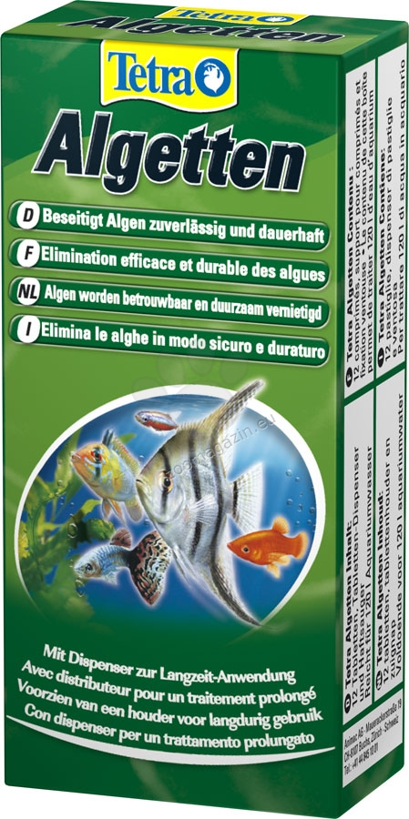 Tetra -  Algetten - против зеленясване на аквариума 12 таблетки