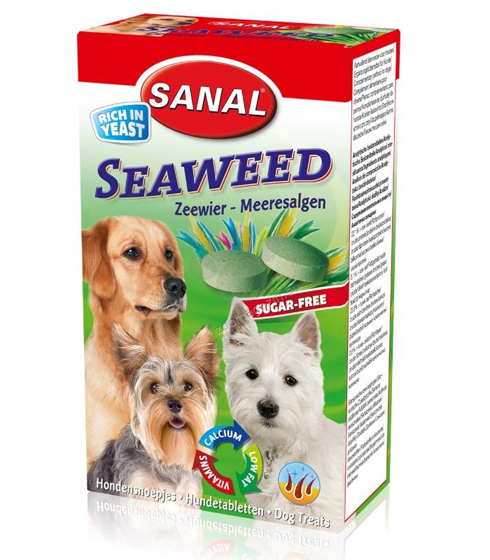 Sanal Dog Seaweed - лакомство с морски водорасли 100 гр.