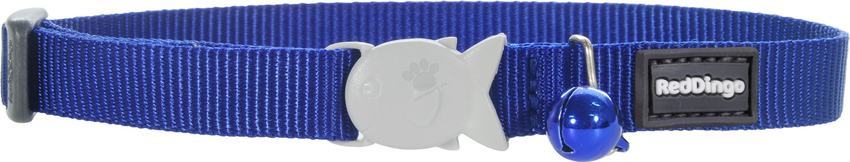 Red Dingo Cat Collar Classic Dark Blue - котешки нашийник, 12 мм х 20-32 см