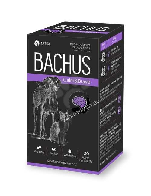 Bachus Calm&Brave - за справяне със стреса 60 таблетки