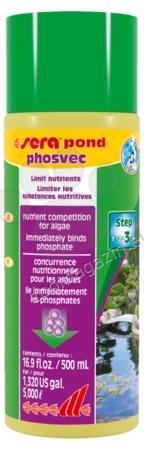 Sera - Pond phosvec - премахва фосфатите, причина за водорасли 2500 мл.