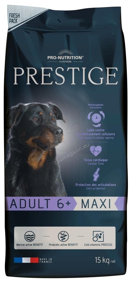 Flatazor Prestige Adult Maxi 6+ - пълноценна храна за кучета едри и гигантски породи над 6 години 15 кг.
