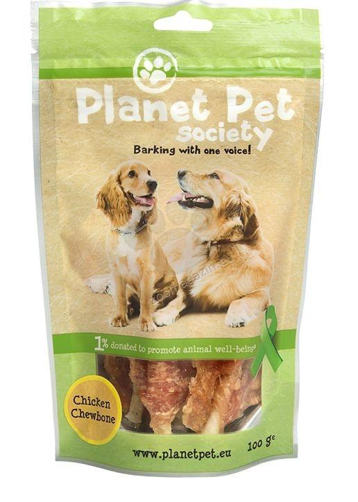 Planet Pet Chicken Chewbone - лакомство за кучета с пилешко от прясно месо, 400 гр.