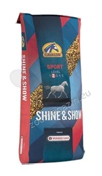 Cavalor Shine Show Expert - храна за красиви коне с лъскав косъм за отлична форма 20 кг.