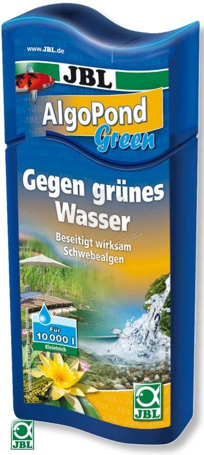 JBL AlgoPond Green - премахва проблемите с позеленяването на водата / плуващи алги / 500 мл., за 10000 литра