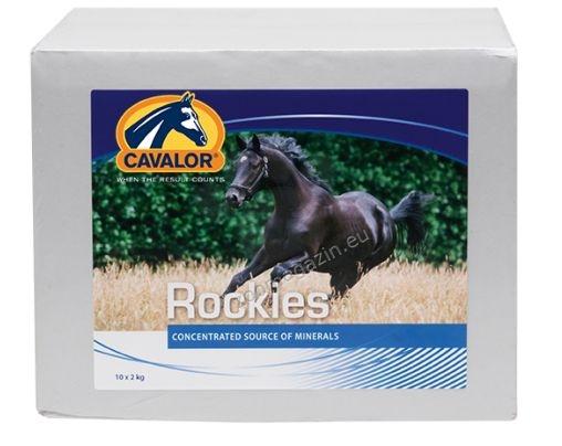 Cavalor Rockies - блокче минерали, макро и микроелементи 2 кг.