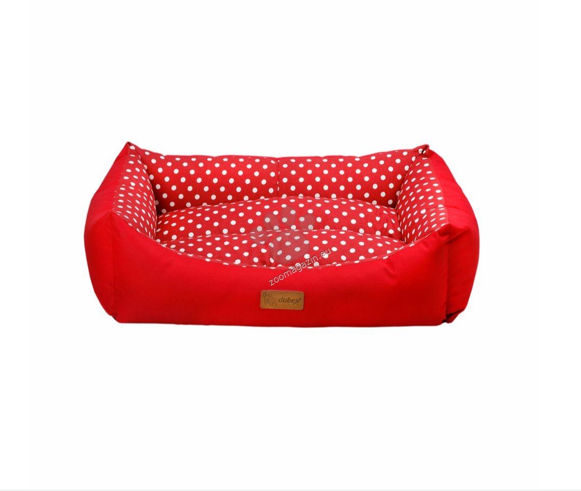 Dubex Tarte bed L - меко легло / червено, синьо / 78 / 60 / 22 см.