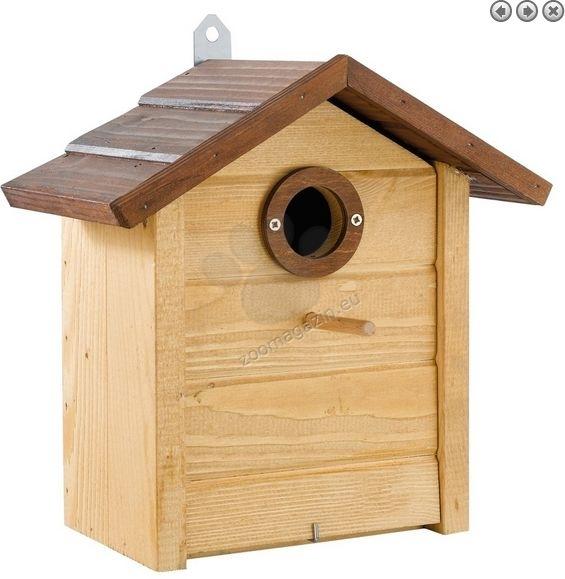 Ferplast - Natura N6 - градинска къщичка за диви птички  26 / 15,8 / 27,4 cm