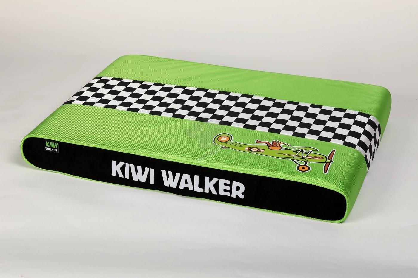 Kiwi Walker Mattress Racing L - водонепромокаем ортопедичен матрак с мемори пяна 80 / 55 / 9 см. / червен, син, зелен, оранжев /