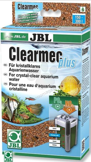 JBL ClearMec plus Pad CP e1500/1 - комплект за премахване на фосфати, нитрати и нитрити с гъба за външен филтър СР е1500/1 600 мл
