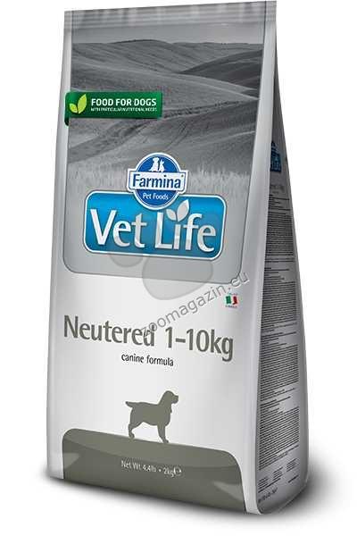 Vet Life Natural Diet Dog Neutered - храна за кастрирани кучета 1 - 10 килограма 2 кг.