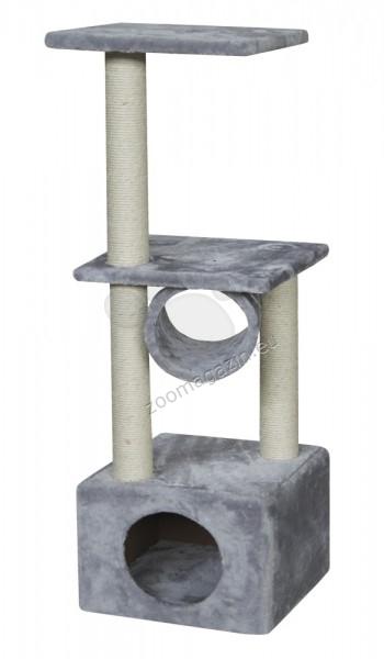Nobby Cuneo - котешка катерушка 35 / 35 / 99 см. / сива, черна, бежова /
