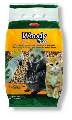 Padovan Woody litter - пресовани борови стърготини 10л.
