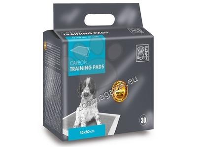 M-Pets Carbon Training Pads - памперси с активен въглен 45 / 60 см., 30 броя