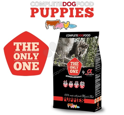 Alpha Spirit The only one Puppies - за кучета от 2 до 12 месечна възраст, подходяща за всички породи 12 кг.
