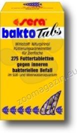 Sera - Bactotabs 275 tabl. - храна при заболявания като издут корем,изпъкнали люспи и очи