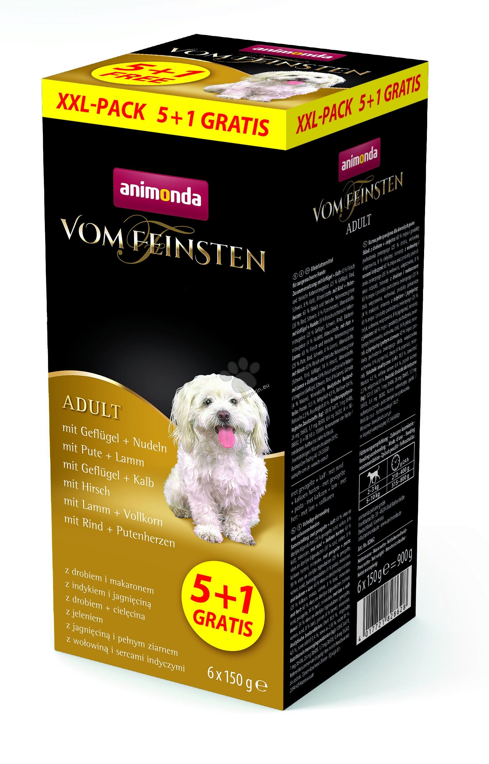 Animonda Vom Feinsten XXL - кутия със 6 броя пастети по 150 гр.
