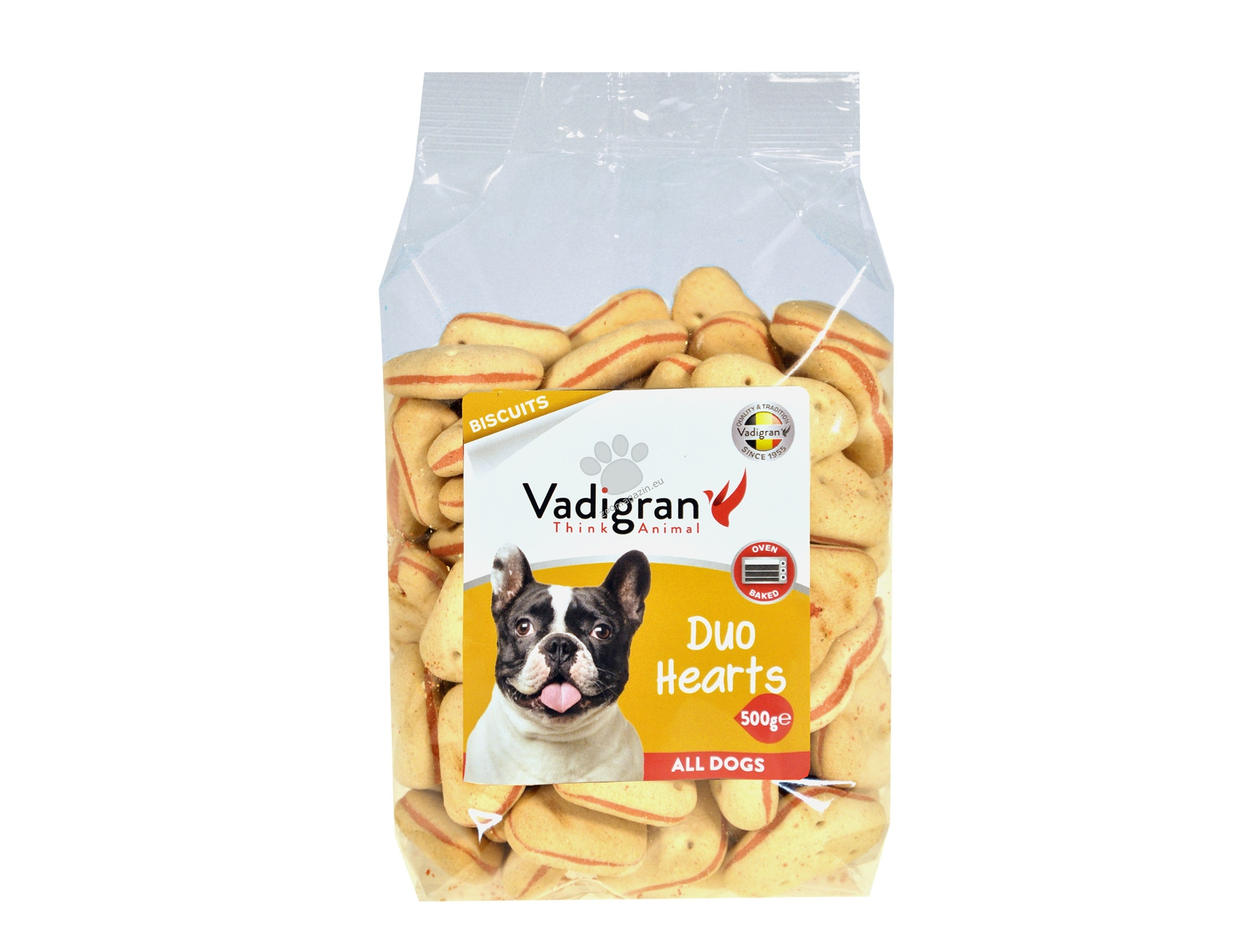 Vadigran - Biscuits Duo Hearts - деликатесни бисквитки 500 гр.