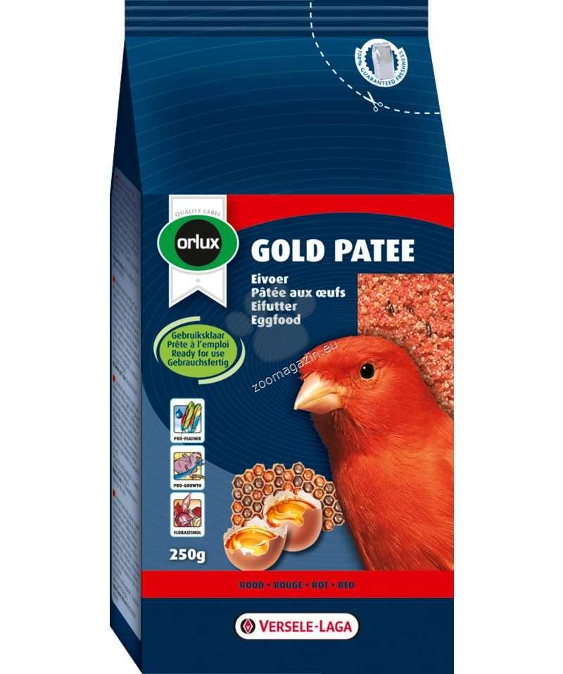 Versele Laga - Orolux Gold Patee Red Canaries - мека яйчна храна за червени канари 1 кг.