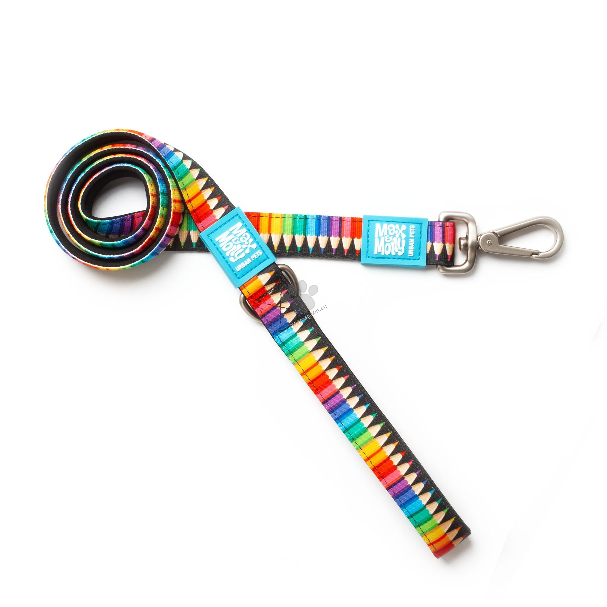 Max Molly Short Leash Crayons XS - повод 120 см. / 10 мм.