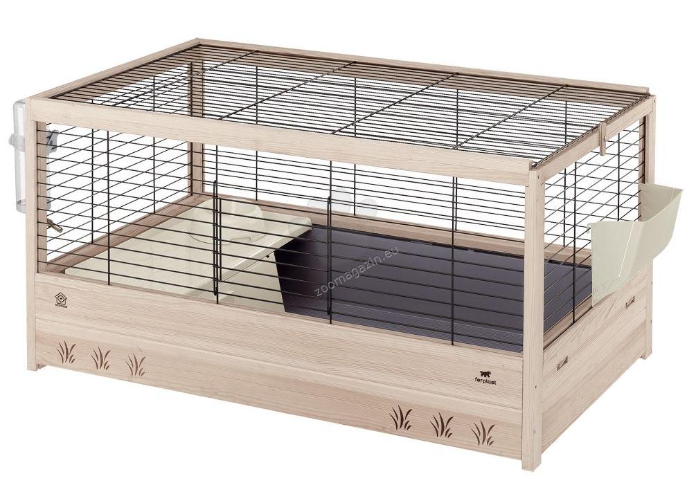 Ferplast - Arena 100 - клетка с пълно оборудване, за мини зайчета 100 / 62,5 / 51 см.