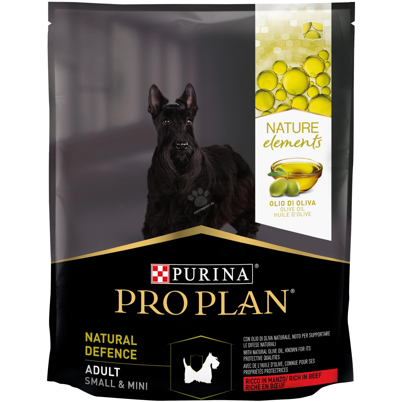 Pro Plan Nature Elements Defense Small / Mini Adult - с агнешко месо, за кучета мини и малки породи над 12 месечна възраст 700 гр.