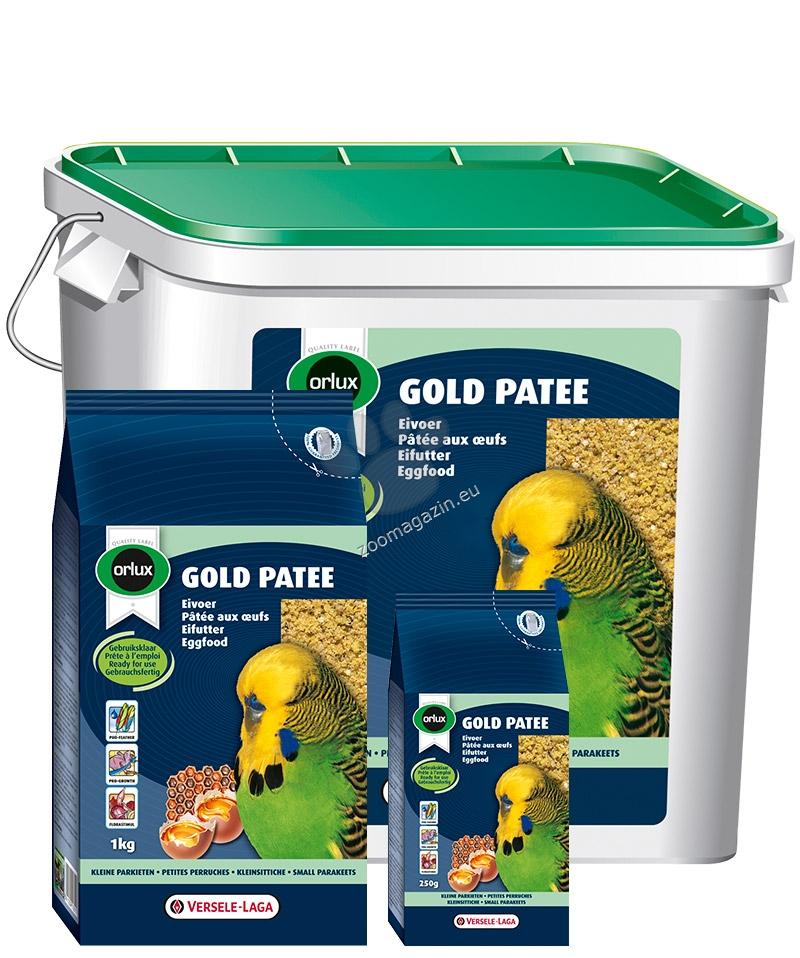Versele Laga - Gold Patee Small Parakeet - мека яйчна храна за малки папагали  5 кг.