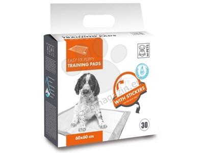 M-Pets Easy Fix Puppy Training Pads - подложки със залепващи ленти 60 / 60 см. / 30 броя