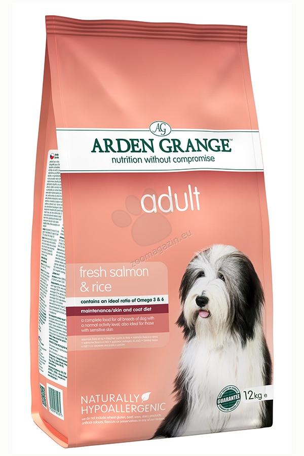 Arden Grange - Adult Salmon & Rice - богатa на прясна сьомга и ориз, за кучета над 12 месеца 12 кг.