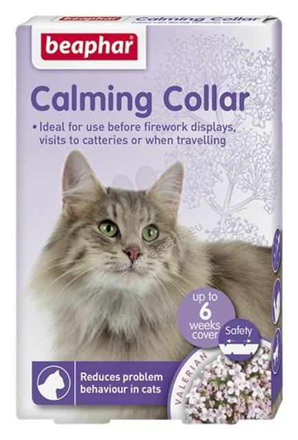 Beaphar Calminig Collar - успокояващ нашийник за котки