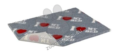 Vetbed Non-Slip I Love My Bed - мека постелка със слой против пързаляне 110 / 75 см.