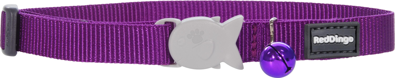 Red Dingo Cat Collar Classic Purple - котешки нашийник, 12 мм х 20-32 см
