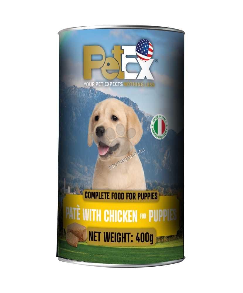 Petex Dog Pate Puppy Chicken - с пилешко месо, за малки кученца, пастет 400 гр.