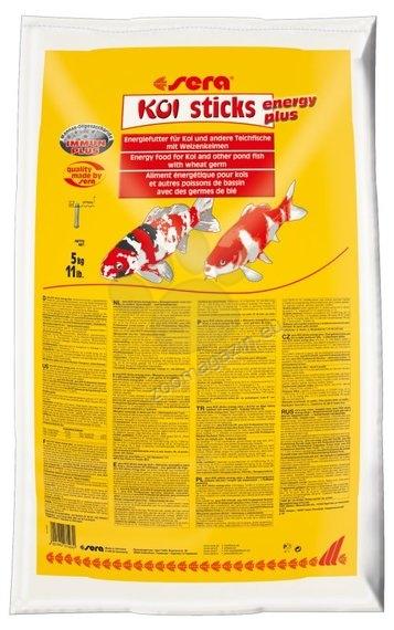 Sera - Koi Sticks Energy Plus - храна за Кои и други езерни риби, 40 л, 5 кг.