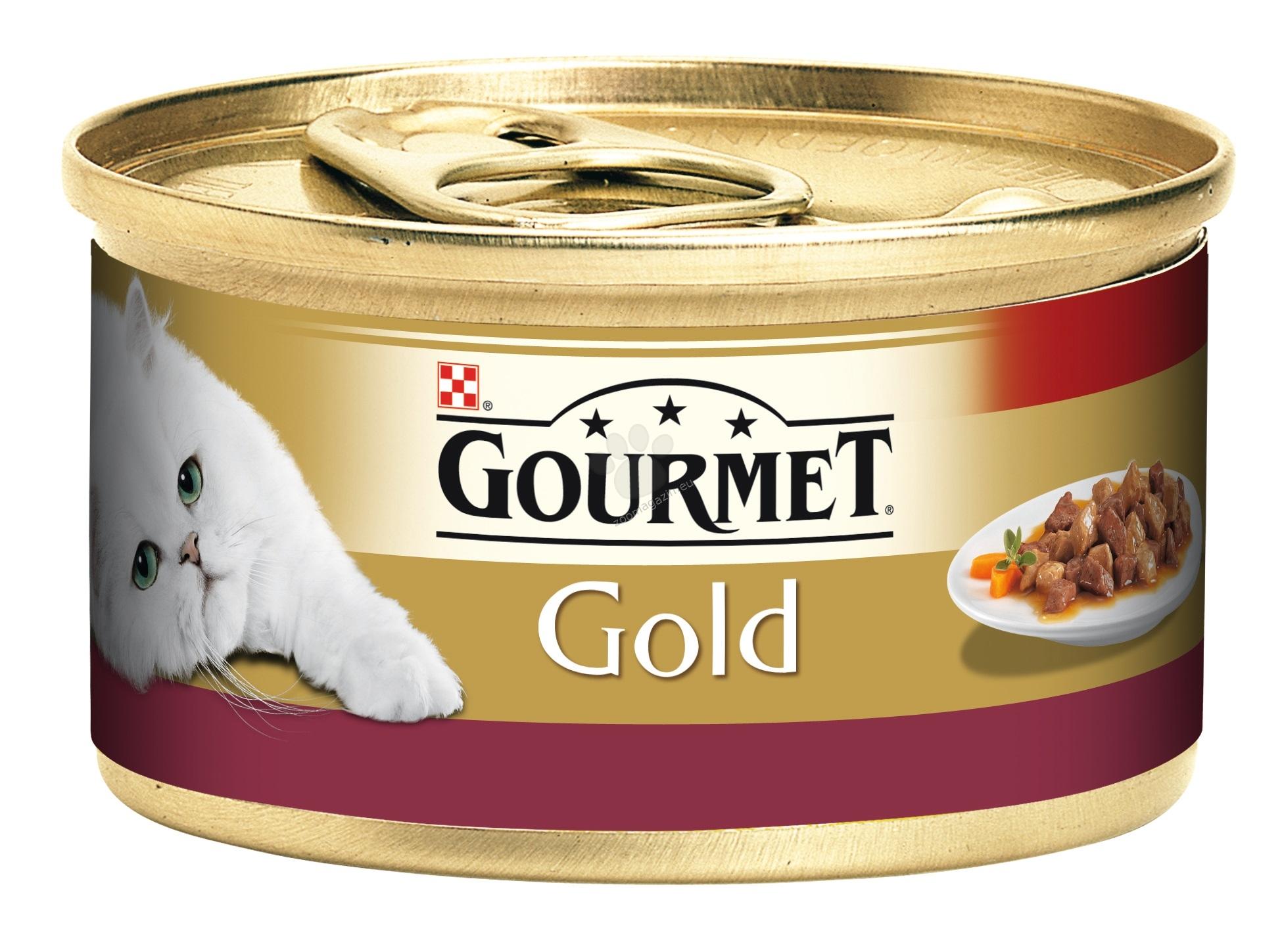 Gourmet Gold Morsels in Sauce Chicken Liver - месни хапки в сос пиле и черен дроб - 85 гр